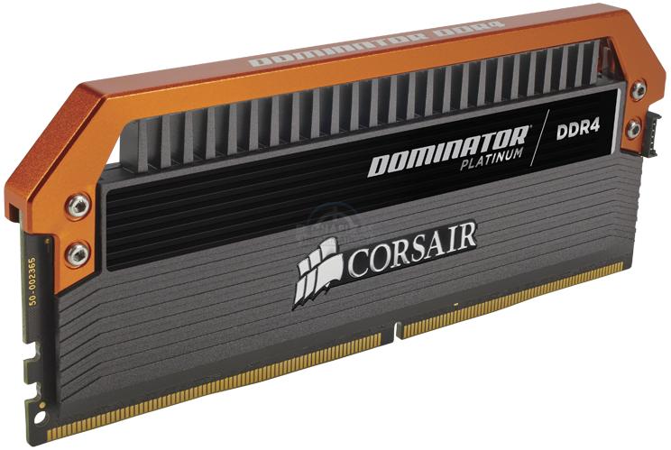 Corsair Dominator Platinum Limited Edition Orange (CMD16GX4M4B3400C16) (2)