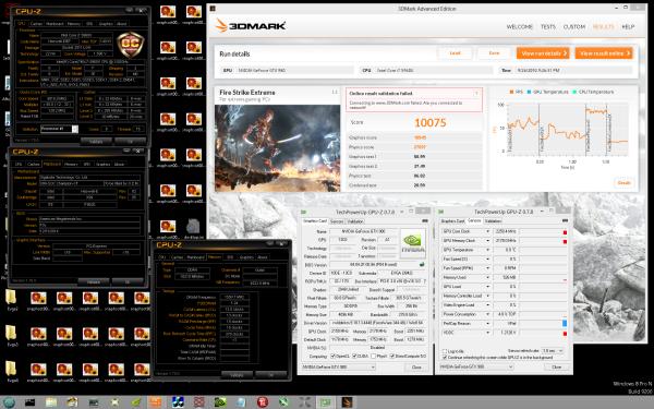 EVGA GeForce GTX 980 Classified overclock 3DMark