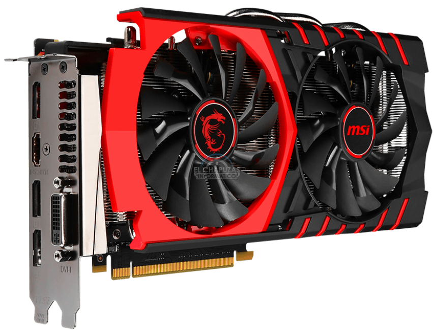 MSI GeForce GTX 960 GAMING 2G MGSV (1)