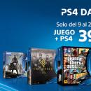 PS4 Days: PlayStation 4 y juego Triple A por 399.99 euros