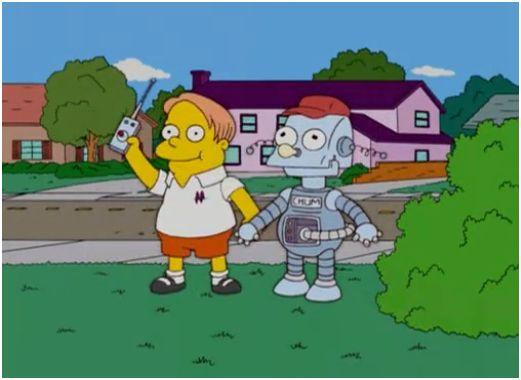 Robot de Martin
