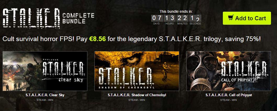 S.T.A.L.K.E.R Complete Bundle - Bundle Stars