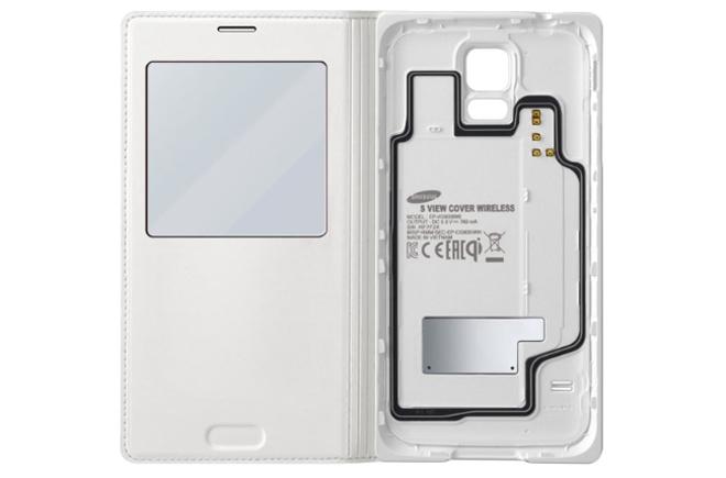 Samsung S View Cover con carga inalámbrica