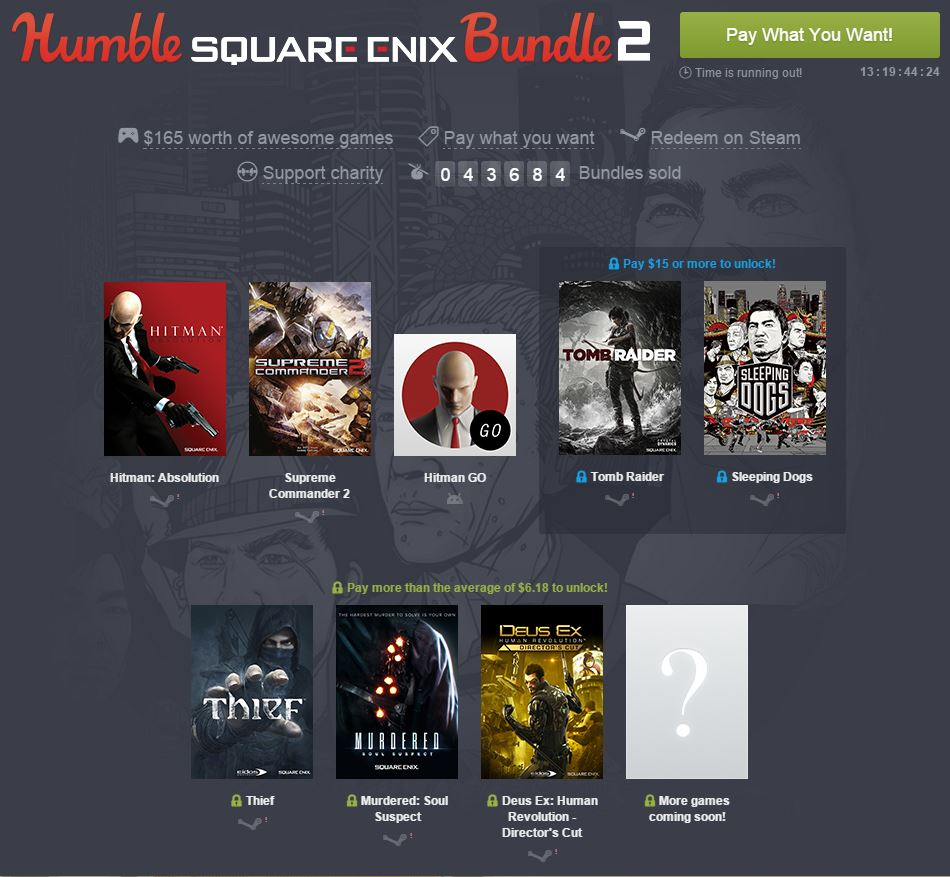 Square Enix Bundle 2
