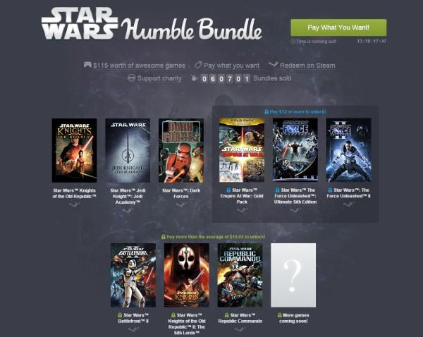 Stars Wars Humble Bundle
