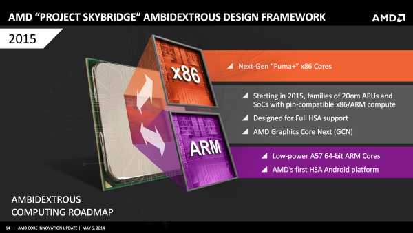 AMD SkyBridge