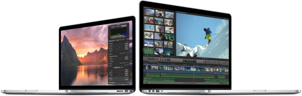 Apple MacBook Pro Retina y MacBook Air 2015