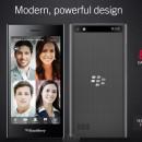 #MWC – BlackBerry Leap: Un 5″ anclado en el pasado
