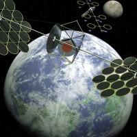 Centrar Solar en el Espacio - China