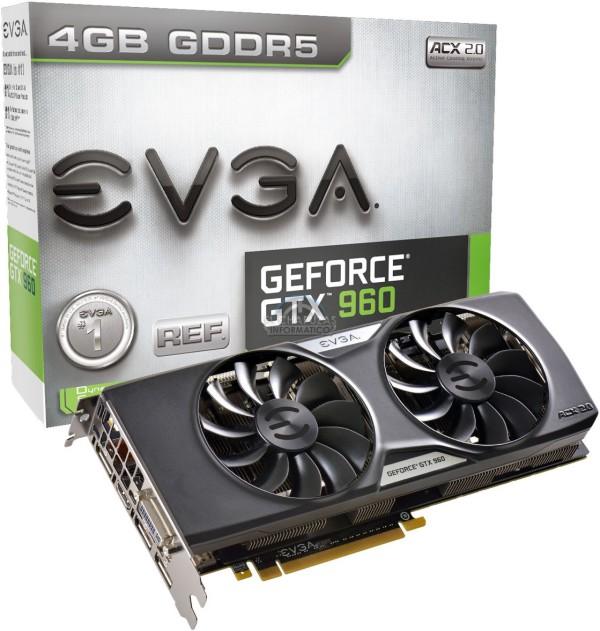 EVGA GeForce GTX 960 4GB