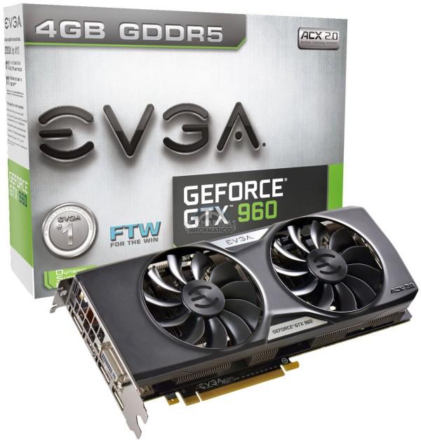 EVGA GeForce GTX 960 FTW 4GB (1)
