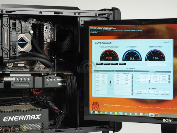 Enermax DIGIFANLESS 550W (2)