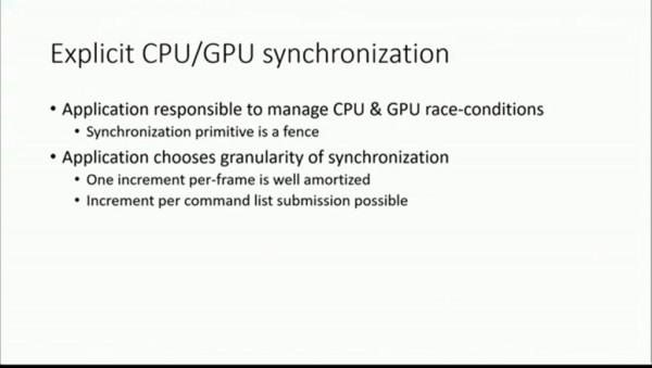 Explicit CPU-GPU Synchronization