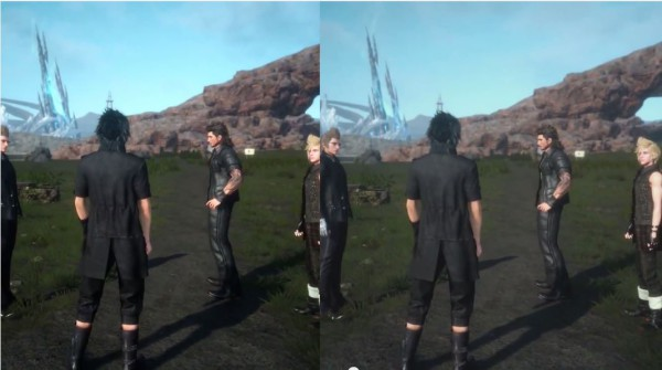 Final Fantasy XV en PlayStation 4 vs Xbox One