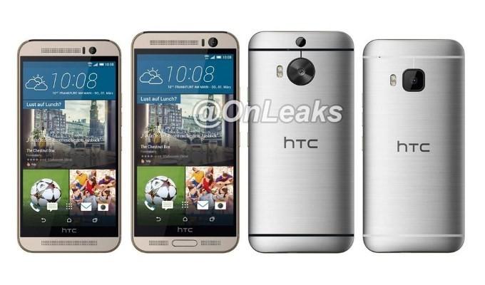 HTC One M9+ render filtracion