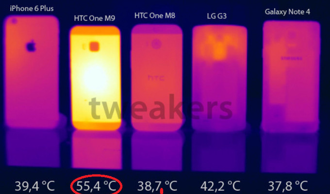 HTC One M9 sobrecalentamiento Qualcomm Snapdragon 810
