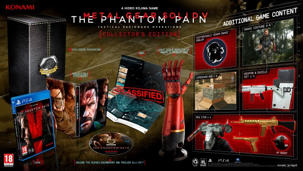 Metal Gear Solid V The Phantom Pain Edición coleccionista