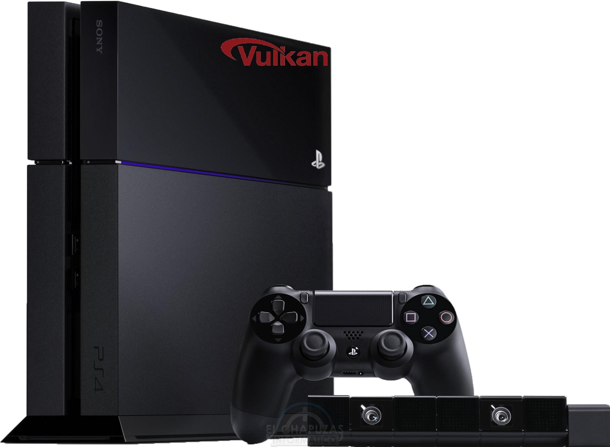 PlayStation 4 API Vulkan