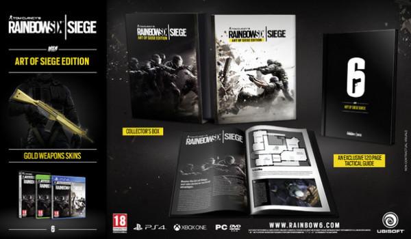 Rainbow Six Siege edición coleccionista