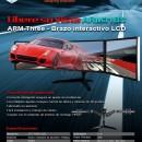 SilverStone ARM31BS: Brazo para configuraciones Multi-Monitor