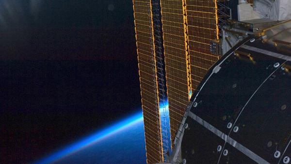 Sonda con paneles solares