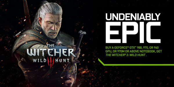 The Witcher 3 Nvidia GeForce