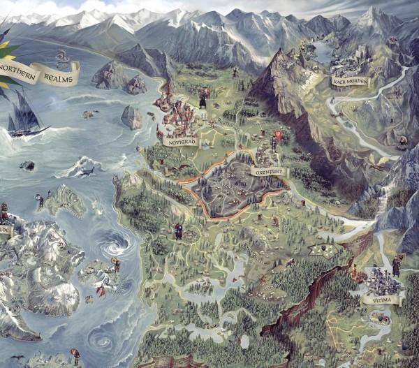 The Witcher 3 Wild Hunt Mapa