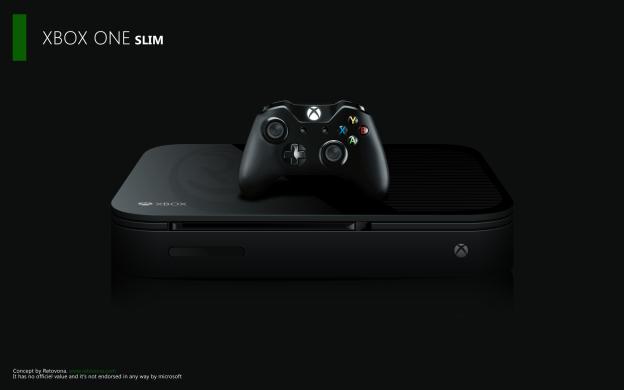 Concepto de Xbox One Slim