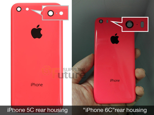 iPhone 6C vs iPhone 5C Filtracion