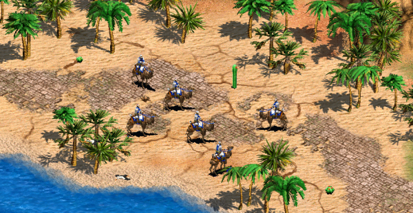 Age of Empires 2 2015 - camello arquero