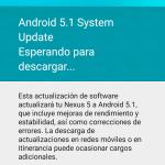Comienza a llegar Android 5.1 a los Nexus 5
