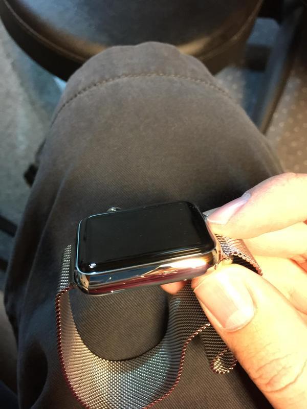 El Apple Watch de acero se raya con suma facilidad