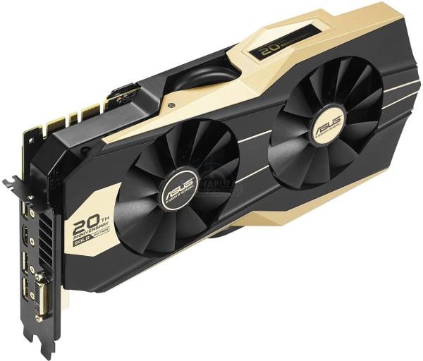 Asus GeForce GTX 980 20th Anniversary Gold Edition