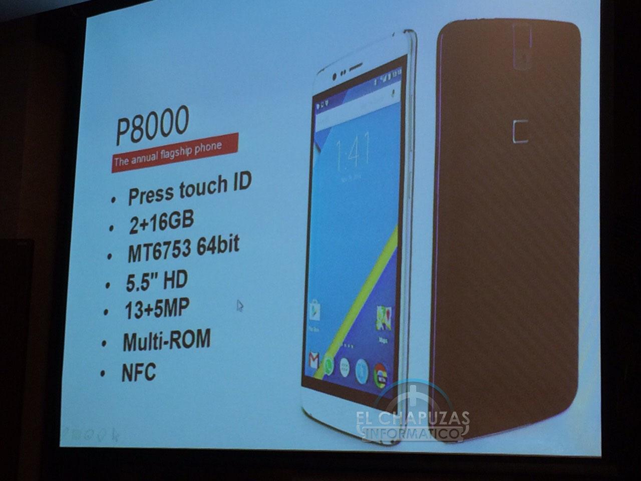 Elephone P8000 características