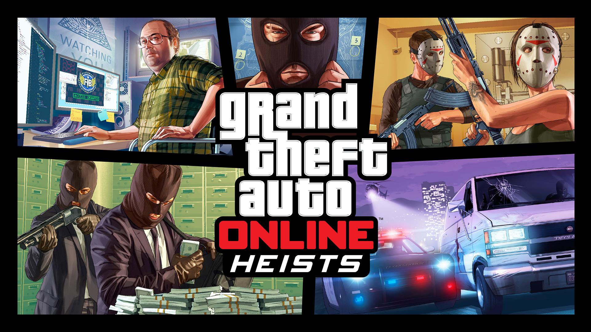 Grand Theft Auto Online Heists