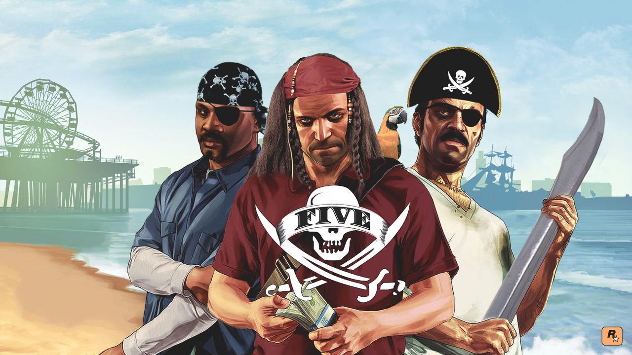 Grand Theft Auto V Pirata