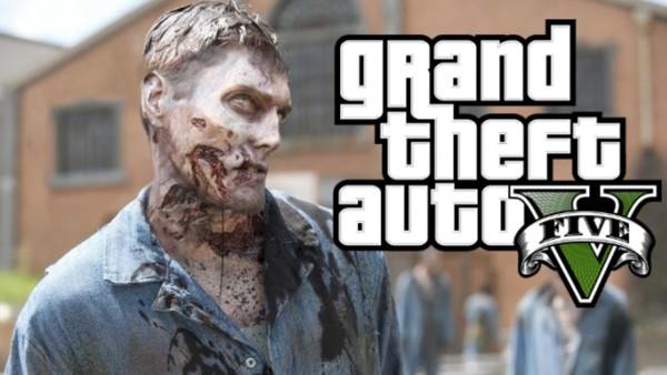 Grand Theft Auto V Zombie