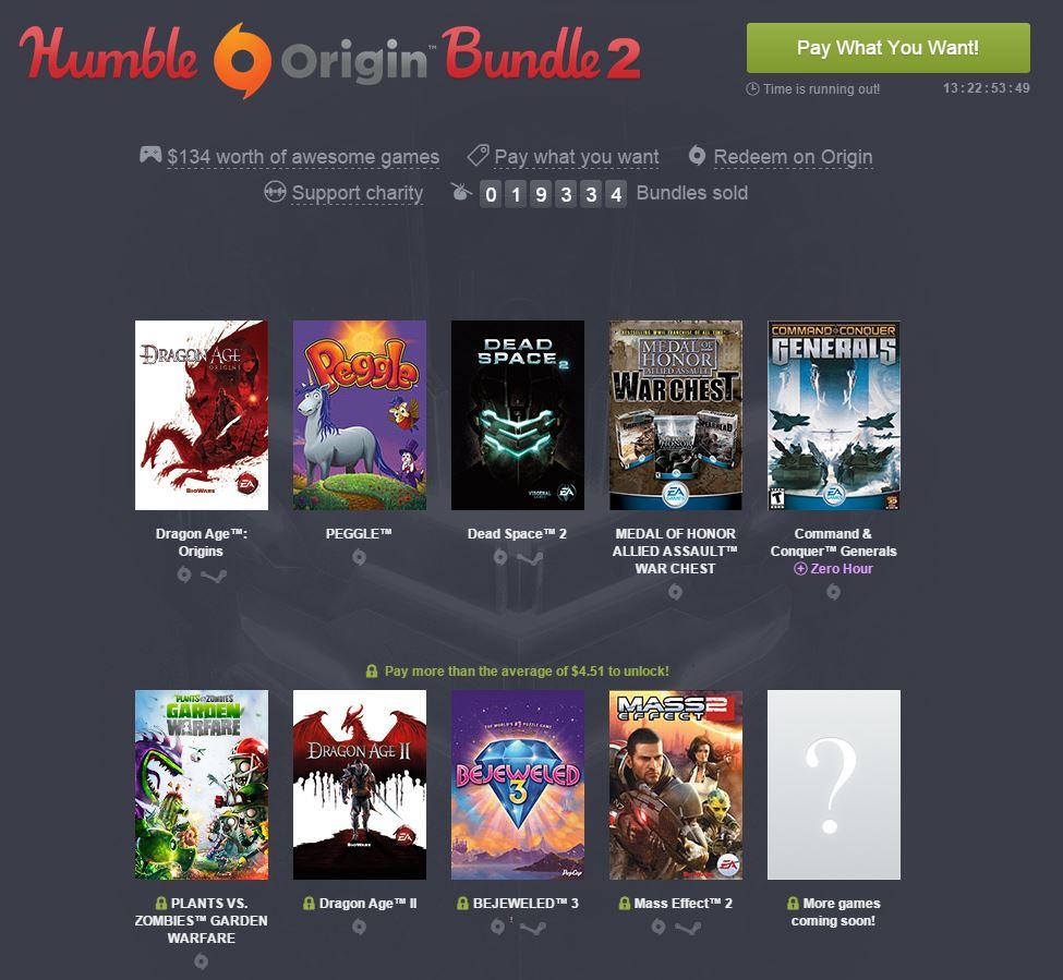 Humble Origin Bundle 2
