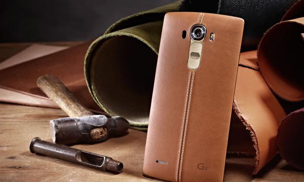 LG G4 en piel