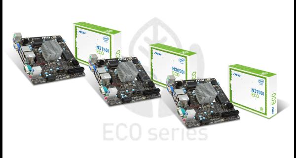 MSI N3050I ECO, MSI N3150I ECO y MSI N3700I ECO