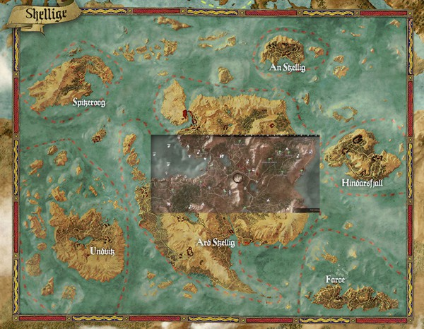 Mapa The Witcher 3