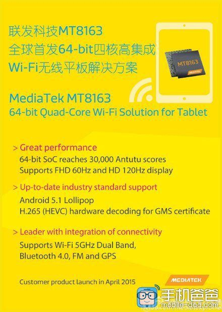 MediaTek MT8163 1