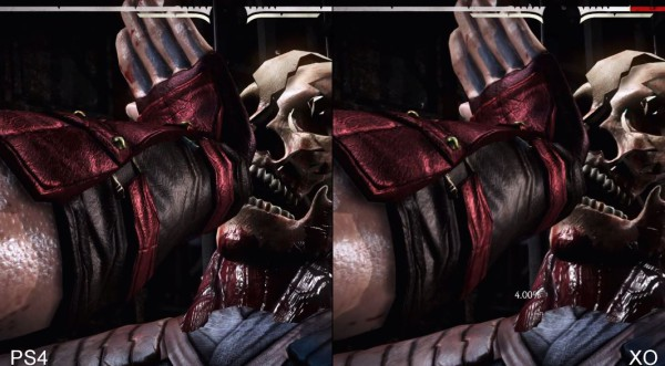 Mortal Kombat X PS4 vs Xbox One