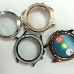 NO.1 SUN: SmartWatch de acero con sensor cardiaco