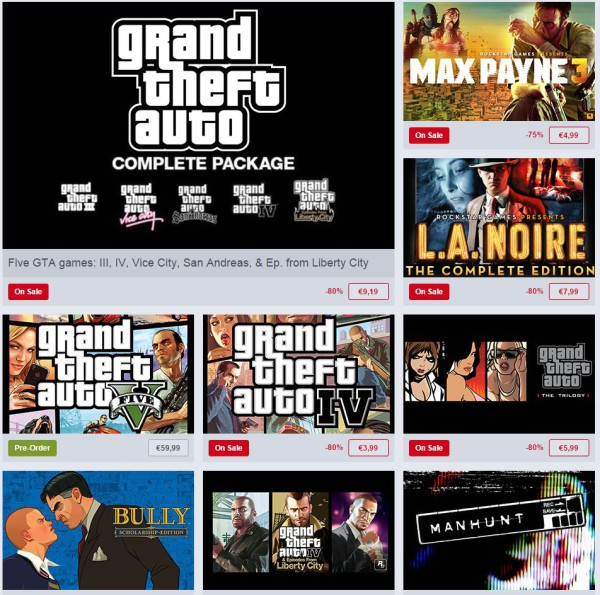 Rockstar Weekend Sale