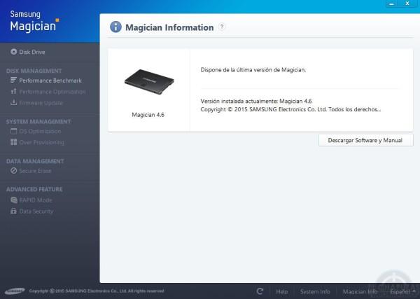 Samsung Magician 4.6