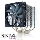 Scythe Ninja 4: Disipador silencioso para CPUs de 65W