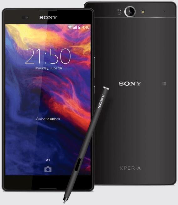 Sony Xperia Z5 Ultra concepto