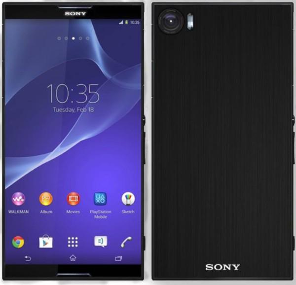 Sony Xperia Z5 concepto