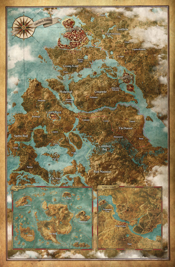 The Witcher 3 Wild Hunt Mapa